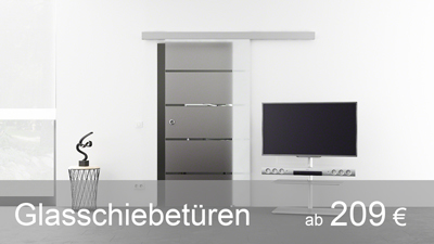 glasschiebet ren einfach g nstig kaufen. Black Bedroom Furniture Sets. Home Design Ideas